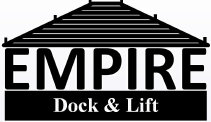 Empire Dock and Lift Logo.  If you need assistance, please call us at (315) 303-0420